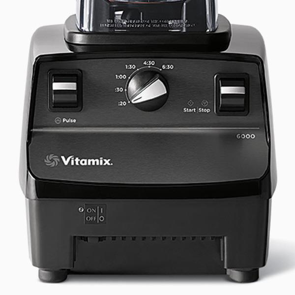 Vitamix 6000 controls