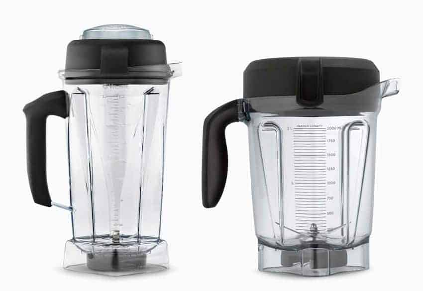 Classic and Next Generation Vitamix containers