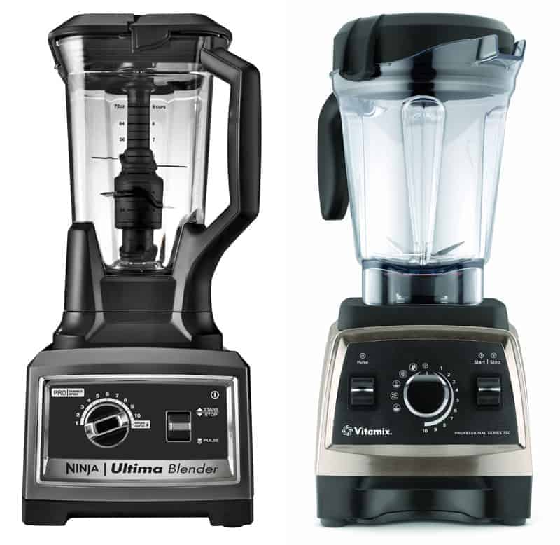 Ninja Ultima and Vitamix Professional Series 750