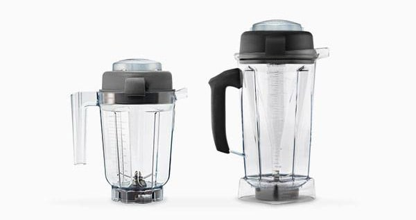 Vitamix wet and dry containers